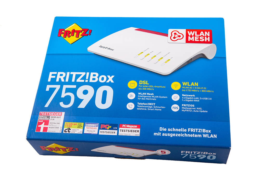FRITZ BOX ROUTER in Box